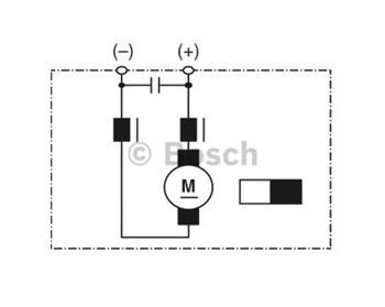 MOTOR DE ARREFECIMENTO C.C. GPC 12V 200W - Bosch - 9130451136 - Unitário