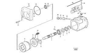 Bomba Hidráulica - Volvo CE - 11173091 - Unitário
