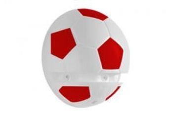 Suporte Plástico Bola de Futebol 14 x 15cm - Prat-K - 8530002 - Unitário
