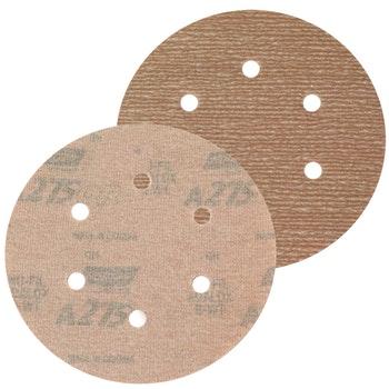 Disco de lixa seco A275 grão 600 152mm c/ 6 furos - Norton - 66261086339 - Unitário