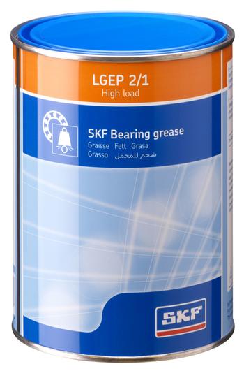 Graxa de alta carga e extrema pressão - SKF - LGEP 2/1 - Unitário