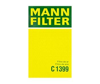 Filtro de Ar - Mann-Filter - C 1399 - Unitário