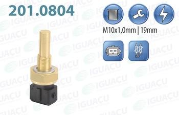 Sensor de Temperatura de Água - Iguaçu - 201.0804 - Unitário