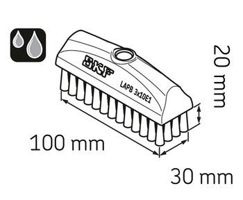 Escova 30 x 100 mm - SKF - LAPB 3x10E1 - Unitário