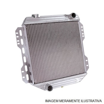 Radiador de Água - Equipado ou não com Ar Condicionado - Alumínio Brasado - Notus - NT-20495.126 - Unitário