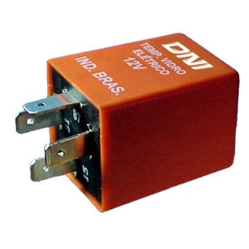 Relé - Universal para Travas e Vidros Elétricos - 12V - DNI 0303 - DNI - DNI 0303 - Unitário