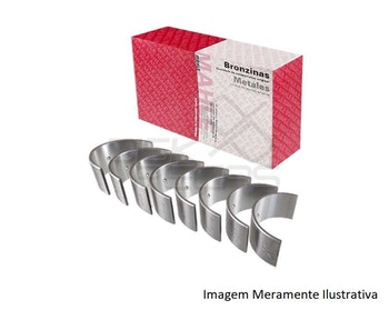 Bronzina do Mancal - Mahle - SM76200 0,25 - Unitário