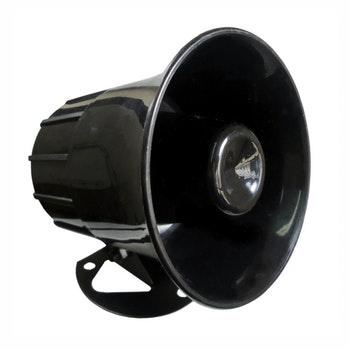 Sirene Eletrônica - 12V - 1,25A/15W - DNI 3300 - DNI - DNI 3300 - Unitário