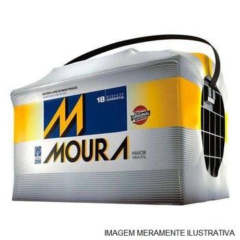 Bateria -12V-75Ah-640CCA(Cold Cracking Ampère) - Moura - MI75KE - Unitário