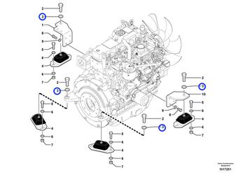 Arruela - Volvo CE - 955900 - Unitário