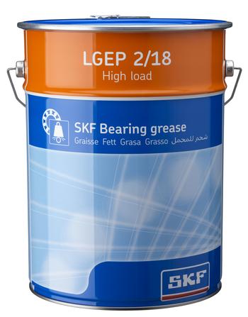 Graxa de alta carga e extrema pressão - SKF - LGEP 2/18 - Unitário
