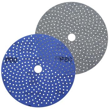 Disco de lixa Cyclonic A975 grão 80 152mm c/ x furos - Norton - 66261115864 - Unitário