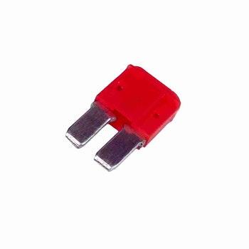 Fusivel Micro Lamina 2 Term. 10A - Universal - DNI 317710 - DNI - DNI 317710 - Unitário