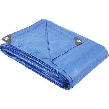 Lona de Polietileno Azul 4 m X 3 m - Vonder - 61.29.043.000 - Unitário