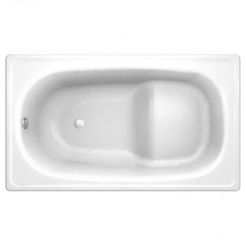 Banheira em Aço Esmaltado Vitrificado 120 x 70 cm - Europa Mini - Celite - B2015BABR0 - Unitário