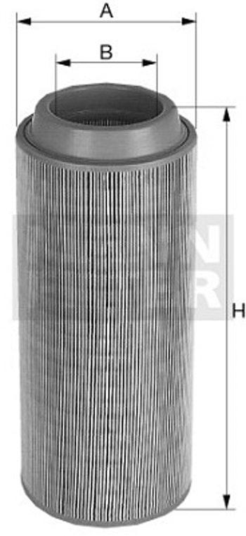 Filtro de Ar - Mann-Filter - C 11 127 - Unitário