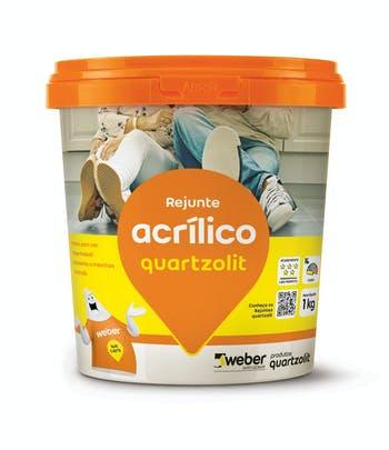 Rejunte Acrílico Bege 1kg - Quartzolit - 0286.00013.0006CX - Unitário