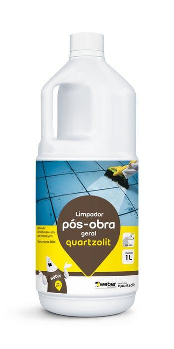 Limpador Pós-Obra Geral 1L - Quartzolit - 0498.99999.0001CX - Unitário