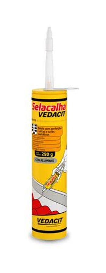 Selante Flexível Selacalha 290g - Vedacit - 111383 - Unitário