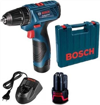 """Furadeira e Parafusadeira Bateria 3/8"""" 12V GRS120-LI com Maleta - Bosch - 06019F70E0 - Unitário"""