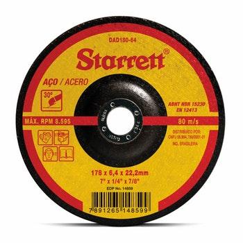 Disco de Desbaste - Starrett - DAD180-64 - Unitário
