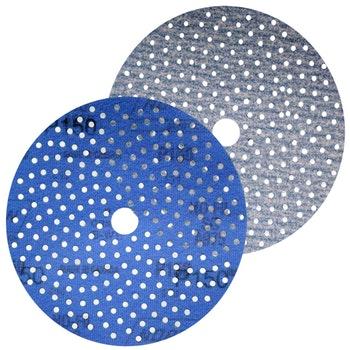 Disco de lixa Cyclonic A975 grão 150 152mm c/ x furos - Norton - 66261115876 - Unitário