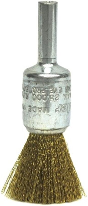 Escova Pincel Aço Ondulado 12mm Fio 0,20mm 2500RPM 10158 - Weiler - 10158 - Unitário