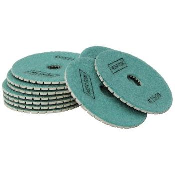 Disco diamantado flexível - Brilho d'água Grão 1500 - Norton - 70184643181 - Unitário