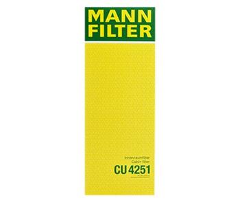 Filtro do Ar Condicionado - Mann-Filter - CU4251 - Unitário
