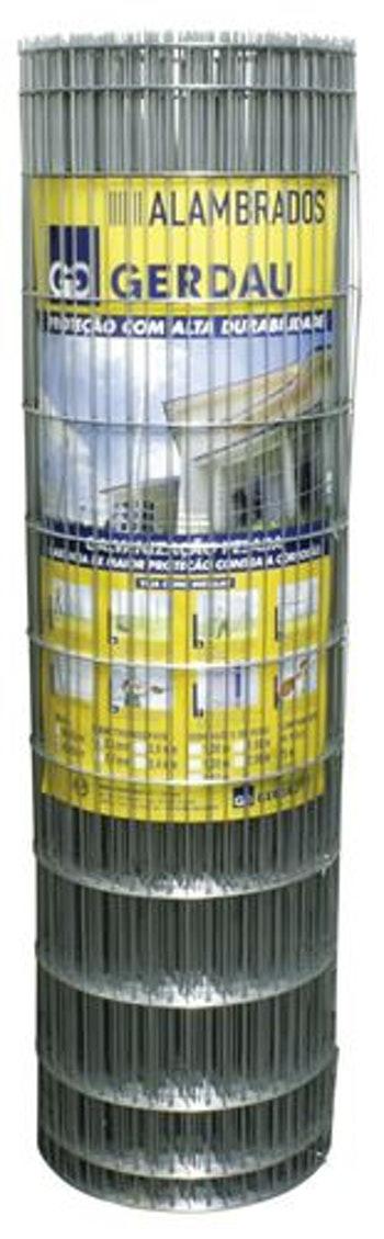 Tela Soldada Alambrada 1,5mx25m - Gerdau - 938643 - Unitário