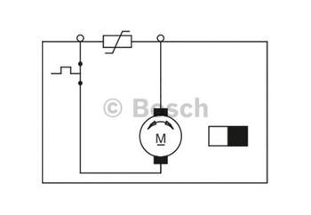 MOTOR-REDUCTOR PLANO - Bosch - 0130821492 - Unitário