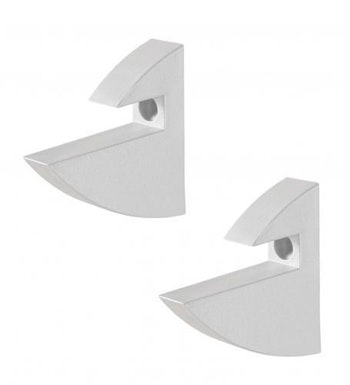 Suporte para Prateleira Concept Branco 7,2 x 2,2 x 7,2cm - Prat-K - 8531001 - Unitário