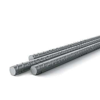 Vergalhão de Aço CA50 Reto 8mm x 12m - ArcelorMittal - 101785 - Unitário