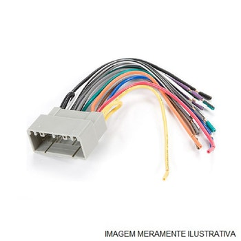 Chicote da Bobina Plástica/Sensor Velocidade - TC Chicotes - TC-1014 - Unitário