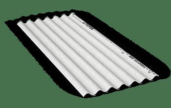 Telha Fibrotex CRFS 4mm 2,13 x 0,50m - Brasilit - 210042135 - Unitário
