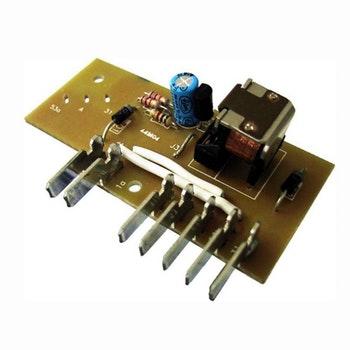Placa Eletrônica 7 Terminais do Motor do Limpador de Para-Brisa - DNI 0349 - DNI - DNI 0349 - Unitário