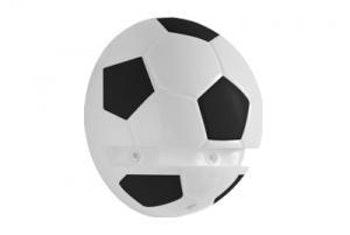 Suporte Plástico Bola de Futebol 15,5 x 20cm - Prat-K - 8530001 - Unitário