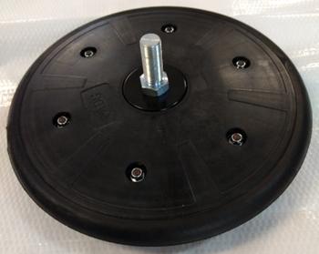 Conjunto compactador R esquerda - Roda Compactadora - AGR Peças - AGR Peças - 25100002 - Unitário