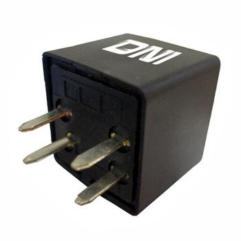 Relé Auxiliar Reversor com Resistor e 4 Terminais (Tipo Agulha) Gm / Kia / Hyundai - 12V - DNI - DNI 8120 - Unitário