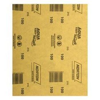 Folha de lixa água T223 grão 100 - Norton - 05539503349 - Unitário