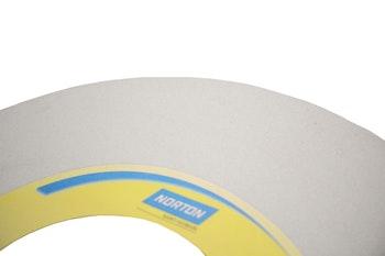 Rebolo copo reto branco FE 38A 60 K - 355,6X50,8X127 - Norton - 69936699845 - Unitário