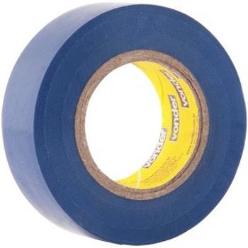 Fita Isolante, 19 mm X 10 m, Azul - Vonder - 11.37.191.011 - Unitário