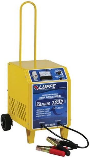 Carregador de Bateria com Auxiliar de Partida 32A-6/12V Bivolt - Luffe - COD 26 - GENIUS 1232 - Unitário