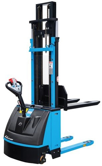 Empilhadeira Elétrica 1,6T e Elevação 4,5m PT 1645 - Paletrans - 1001520 - Unitário
