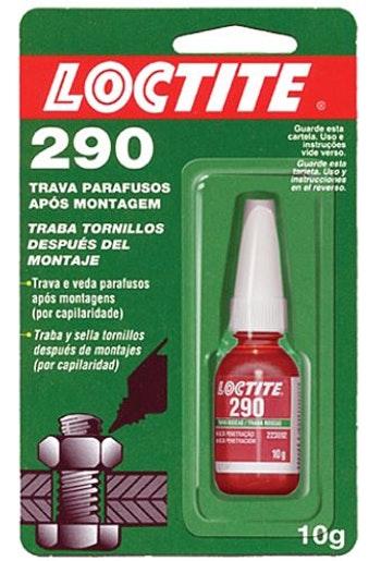 Adesivo Anaeróbico Trava Rosca 290 10g - Loctite - 284487 - Unitário