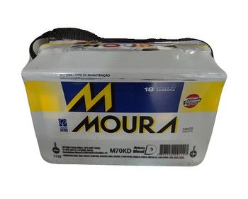 Bateria - Moura - M70KD MFA - Unitário
