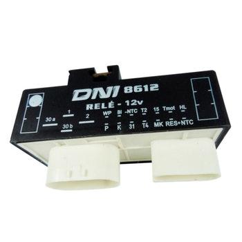 Relé Controle Do Ventilador Do Radiador Audi Vw 1J0919506L - 12V 18 Terminais - DNI - DNI 8612 - Unitário