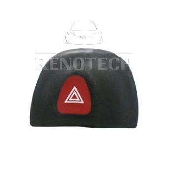 Botão do Pisca-Alerta - Renotech - RN 435867 - Unitário