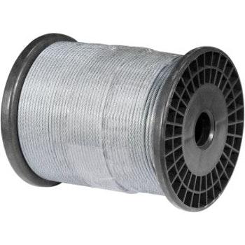 """Cabo de Aço Plastificado Alma de Fibra 1,6 mm - 1/16"""" 6 x 7 - Vonder - 35.21.016.707 - Unitário"""
