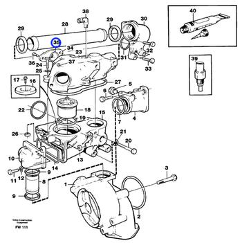 Anel de Vedação - Volvo CE - 469477 - Unitário